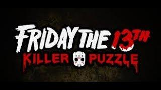 Friday The 13th Killer Puzzle English Girl Gamer Live Right Now