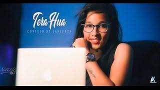 Atif Aslam || Tera Hua || Loveratri ||female Version || Sanjukta Das ||24 pixel Nikhil kumar ||