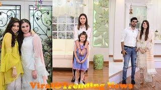 Female Celebrities With Siblings Special Show With Nida Yasir