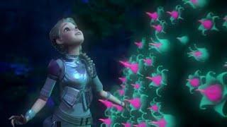 Khamoshiyan ( female version ) cover song / Animated Barbie version / status video by saregama tv.