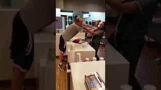 Black Female McDonald's Worker & Former Boxer Beats White Customer