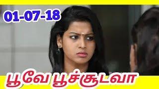 Poove Poochoodava   Episode - 313   Promo   01 July 2018   Tamil Serial