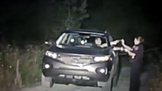 Female officer fights over gun with suspect - single shot to the suspect block