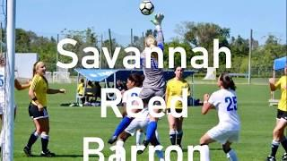 Savannah Barron Female Goalkeeper Game Highlight Video Grad 2021 College Soccer Recruitment