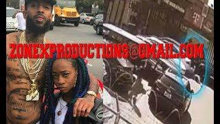 Nipsey Hussle Female Driver in the shootin identified she crip rapper from brooklyn!