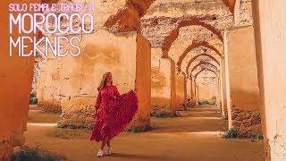 Solo Female Travel in Morocco | Meknes | Episode 3