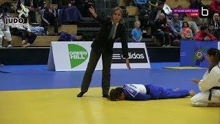female judo choke out 94