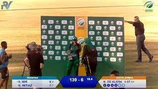 Women's Cricket - SA vs PAK 3rd T20I - Live from Pietermaritzburg