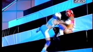 Gladiators: Battle of the Champions - Pyramid (Female, Series 4, 1995)