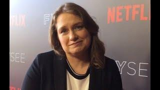 Merritt Wever ('Godless') on female-centric, not-so-traditional western for Netflix