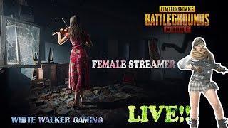 Female Streamer I Show Support I PUBGM