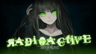 ◤Nightcore◢ ↬ Radioactive [FEMALE VERSION | lyrics]