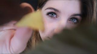 ASMR Uncovering You: Autumn Leaves ~ Crinkles, Counting & Personal Attention