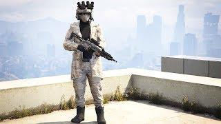 Roof and Snow Camouflage | Best Female Outfits in GTA ONLINE (Fashion Series #11)