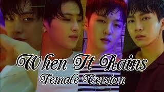 BTOB-BLUE - When It Rains [Female Version]