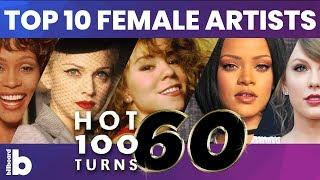 Billboard Hot 100 Top 10 Female Artists of All Time Countdown!