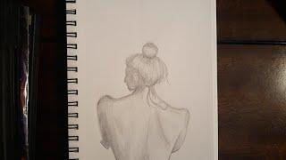 Rough Sketching and Shading the Female Back