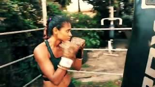 Female Fighter Ranini some bag work out and some fun