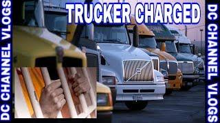 Trucker Arrested & Charged With Assault On Female At Truck Stop Plus Multiple Vehicle Crash | VLOG