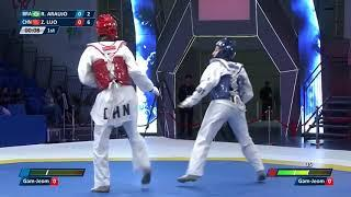 Female  57kg Round of 16 |Rafaela ARAUJO (BRA) VS Zongshi LUO (CHN)