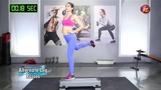 ZKZ Female Fitness | Beginner Step Up Platform Full Body Workout | Ep 3