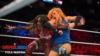 FULL MATCH - Team Raw vs. Team SmackDown - Women's Survivor Series Match: Survivor Series 2017