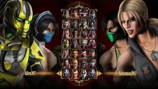 Mortal Kombat Casuals Tag Team - Female Teams!