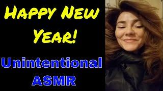 Happy New Year! Unintentional ASMR from the soft spoken Sarah West