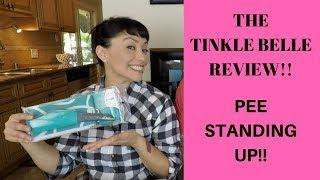 Tinkle Belle FEMALE PORTABLE URINATION Device REVIEW!!