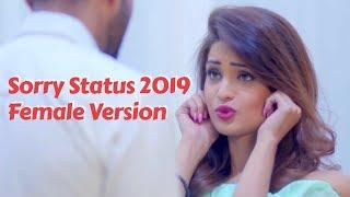 Sorry Status Love Story Female Version Whatsapp Video New Hindi Song 2019 Best top hit for girls Gf