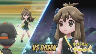 Pokémon Let's Go Pikachu and Eevee: Vs Green (Kanto Female Legend)