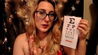 Cranial Nerve Exam Role Play ASMR | Soft Spoken | Visual Triggers + ( 1080p Camera test)
