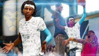 NBA Live 19 The One Career | JUWANNA MANN FEMALE DUNKER CAUGHT A BODY! Road To ICON #2