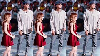 The extreme height differences between these male and female idols will make your heart flutter