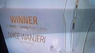 Amvca 2018 Best actress in a comedy movie tv series nyce wanjeri auntie boss