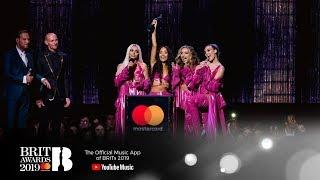 'Woman Like Me' by Little Mix wins British Artist Video of the Year   The BRIT Awards 2019