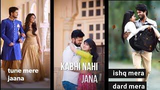 Ishq Mera....Female Version Full Screen Whatsapp Status Video | new love status