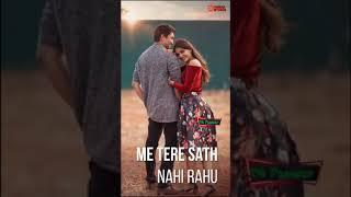 Tujhse Mohhabat hai.... Female Version Full Screen Whatsapp Status Video | new love status