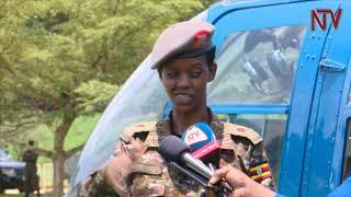 Female UPDF pilot shares her 14-year journey