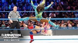 FULL MATCH - Alexa Bliss vs. Naomi - SmackDown Women's Title Match: WWE Elimination Chamber 2017