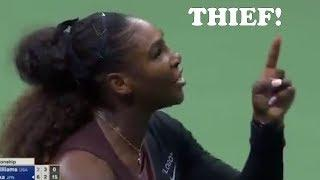 Serena Williams has a MELTDOWN