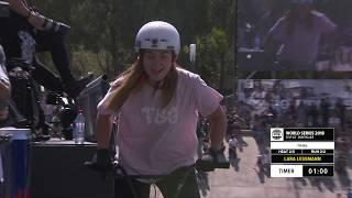 Lara Lessmann | 3rd Final UCI BMX Freestyle Women's World Cup -  FISE World Series Montpellier 2018
