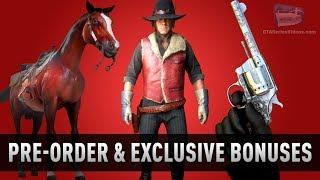 All Pre-Order and Exclusive Bonuses for Red Dead Online and Red Dead Redemption 2