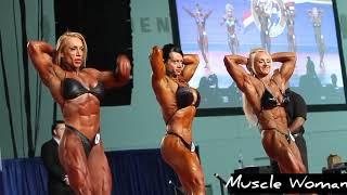 Muscle Woman #30 Bodybuilding Show! Female muscle! Strong woman! Fitness! Sport! FBB Contest !