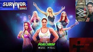 WWE Mayhem - Survivor Series Women Update