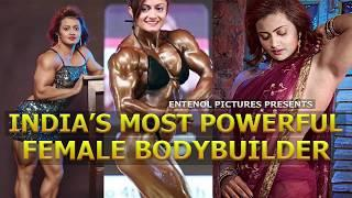 19-year-old Indian Female Pro Bodybuilder Europa Bhowmik | Workout Video