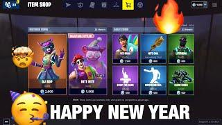 *NEW YEARS DAY* FORTNITE ITEM SHOP COUNTDOWN! *Female DJ  YONDER SKIN *