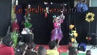 le jardin enchanté magie comédie              female magic show