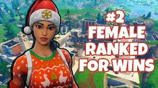 Solos - #2 Ranked Female For Wins - 1985+ Wins - 26,400+ Kills