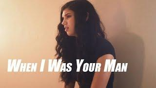Bruno Mars   When I Was Your Man Female Version Jamie Morelan